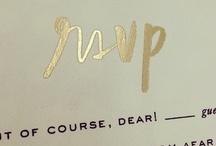 Pretty Paper & Font / by Stephanie Ballard (Covet Living)