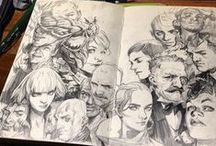 Amazing Sketchbooks / by Camila Gray
