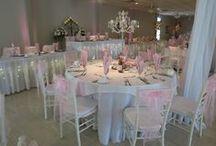 Atrium Receptions / A board of wedding receptions held at our venue.