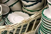 dishes and collections / by Sheila Sapienza
