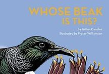 Birds and Beaks for Kiwi Kids / Birds have amazing adaptations, their beaks suit the kind of food they need and their environment. Here are some education and craft activities for children on this topic.