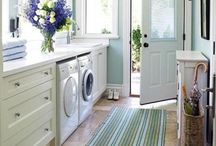 Lovely Laundry and Mud Rooms