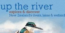 Explore NZ Rivers, Lakes and Wetlands / New Zealand's rivers, lakes and wetlands are fascinating places for children to explore and discover. Ideas for education outside the classroom as well as for family nature activities.