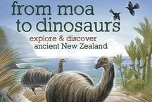 From Moa to Dinosaurs for Kiwi Kids / From Gondwana to Zealandia to New Zealand, many changes have taken place to create the country we know as New Zealand today. Here are links, education activities and crafts that help children learn about extinct animals, fossils, ancient survivors, geological forces and how scientists uncover the secrets of the past. Includes tuatara, moa, giant penguins, dinosaurs and much much more.