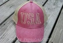 Patriotic & Political Trucker Hats / Distressed Trucker hats with patriotic themes, USA trucker hat, American flag trucker hat, political trucker hat