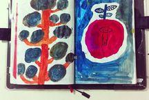 Journal & Sketchbook inspiration / by Faye Day
