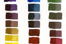 """Celebrating Color""  Blog Posts / Blog posts about the wonder of color and color mixing. I am passionate about teaching artists about color in a way that is easy to understand and apply."
