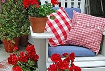 "Glorious GINGHAM / ""It's hip to be square"" Classic checks that are always cheerful.... gingham just makes us happy!"