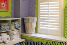 Laundry Rooms & Bathrooms Painting and Design / www.maverickpaintingsandiego.com / by Maverick Painting