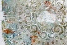 Gelatin Plate  / by Faye Day