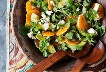 Spruce Up Your Salad / Add a little green to your diet with these delicious (and gluten free) salads!