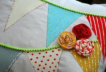 Bunting, Fabric Scraps & Sewing Inspirations