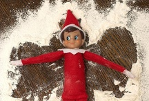 Elden - our Elf on the Shelf / Ideas for our Elf on the Shelf Elden / by Mummypinkwellies