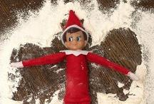 Elden - our Elf on the Shelf / Ideas for our Elf on the Shelf Elden / by Mummypinkwellies