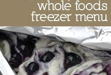 Freeze your food for later! / by Amanda Winter