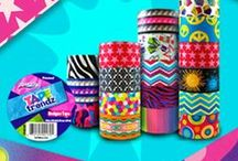 Duct Tape Designs and Patterns / From school decor, crafts, and fashion to duct tape purses, bags, and wallets - ArtSkills duct tape designs are great designs for any project! / by ArtSkills