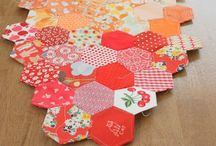 Sewing :: Hexagons