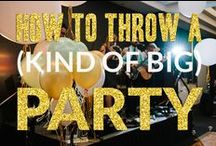 Party Planning / Whether you're planning your kids next birthday party or a elegant dinner party, uses these party planning ideas and themes and be a pro!