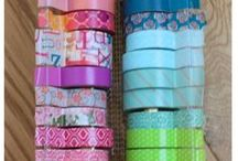 Washi Tape Ideas / What don't I use washi tape for?  Greatest invention ever, and so useful especially in planners.