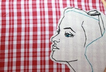 embroidery & stitchery / embroidery and textile based art!