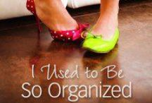 """I Used to be So Organized / Work through our seventh, past #P31OBS (on your own or with friends) on Glynnis Whitwer's book, """"I Used to Be So Organized."""" *Combining spiritual encouragement and practical application this book presents a balanced approach to finding order and peace for today's overwhelmed woman. 