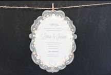 Wedding & Event Invitations / Wedding // Invitations and stationery made with love by Felicitations