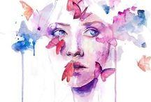 Illustration / by Karime Addams