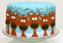 Christmas Cake Inspiration