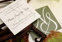 Green / wedding stationery in green theme