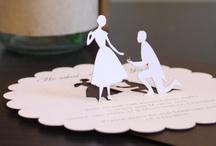 VINTAGE / wedding invitations in vintage retro style