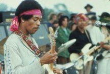 Jimi Hendrix / by Manuel Martinez Jr.
