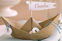 Nautical / Nautical // Sea // Ocean theme for a wedding invitation and stationery