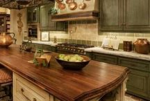 Kitchens / by Charity Lewis-Vocker