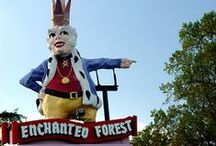 The Enchanted Forest / Was a place near Ellicott City Maryland that I used to go to as a child.  Long since abandoned, some bits of it have been relocated to a farm for kids today to enjoy.
