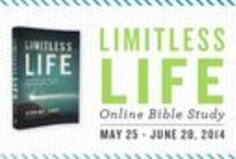 """Limitless Life / Work through our seventeenth, past #P31OBS (on your own or with friends) on Derwin L. Gray's book, """"Limitless Life. You are more than your past when God holds your future."""" 