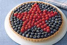 Fourth of July / Yummy delights for the patriotic holidays.