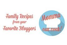 Momma Can Cook / Momma Can Cook is a weekly series that shares recipes from your favorite bloggers. For details or to submit a recipe, check out the last pin.