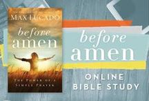 """Before Amen / Work through our twentieth, past #P31OBS (on your own or with friends) on Max Lucado's book, """"Before Amen."""" *Calm the chaos of your world by embracing a simple prayer pattern that brings peace and rest  and release your prayer wimp self-image and discover confidence in your God-given prayer strength. 