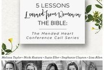 """The Mended Heart / Work through our twenty-third, past #P31OBS (on your own or with friends) on Suzanne Eller's book, """"The Mended Heart."""" Learn how to move forward and find healing for our deepest hurts. Your past may have shaped you, but it doesn't have to define you. 