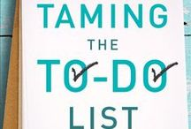 """Taming the To-Do List / Work through our twenty-fourth, past, #P31OBS (on your own or with friends) on Glynnis Whitwer's book """"Taming the To-Do List ~ How to Choose Your Best Work Every Day."""" 