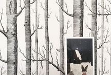 wallpaper / inspiring wallpaper prints to magic a blank wall into a whole other world