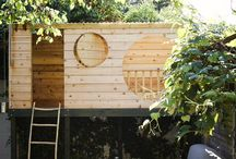 children's playhouses / magical little spaces, just for children, where their imaginations can run wild and free