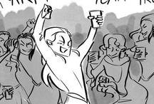 Elven Gang / My elven bros of Mirkwood, Rivendell and Lothlorien! ❤️♂️