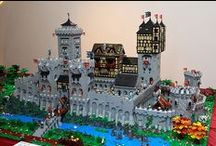Medieval Legos / Lego sets from my childhood, some of which I had, most of which I just really, really wanted to have. This is all castles, knights, steeds, wizards, bandits and other fantasy/medieval stuff. / by Charles Gordon