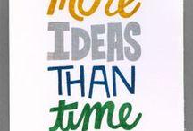 ideas / by Donna Sluder
