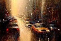 Art: Roads / Streets / by PELO DE HAWKEYE