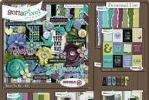 {Dare To Be} Digital Scrapbook Collection by Aprilisa Designs available at Gotta Pixel