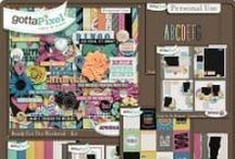{Ready For The Weekend} Digital Scrapbook Collection by Aprilisa Designs