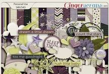 {Once Upon a Dream} Digital Scrapbook Collection by Aprilisa Designs