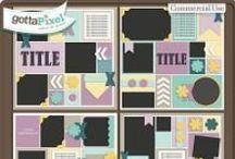 {Picture Perfect 95-98} Digital Scrapbook Templates by Aprilisa Designs